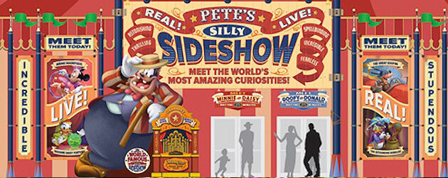 New concept art reveals Pete's Silly Sideshow, home of big top meet-and-greets in Storybook Circus at Walt Disney World