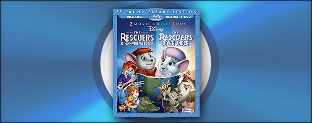 Review: 'The Rescuers' & 'The Rescuers Down Under' Blu-ray – Films linked across a decade, each standing on its own