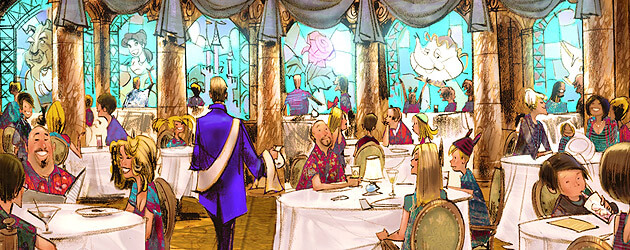 Magic Kingdom to serve alcohol for first time, Walt Disney World details dining options at Be Our Guest restaurant