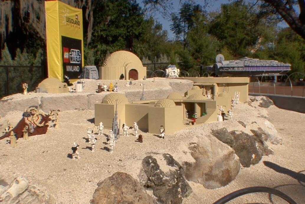 Star Wars Miniland Grand Opens At Legoland Florida With Thousands Of