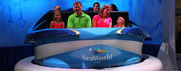 Trackless 'Empire of the Penguin' ride vehicle unveiled by SeaWorld Orlando, ride to debut in new Antarctica realm in 2013