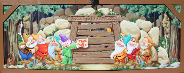 Walt Disney World offers sneak peek at Seven Dwarfs Mine Train with new virtual ride and see-through construction walls