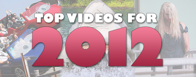 Top 10 Most Popular Videos for 2012 from Disney, Theme Parks, and Special Events