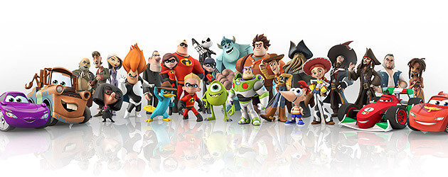 "'Disney Infinity' video game unveiled to be cross platform ""toy box"" with character figurines"