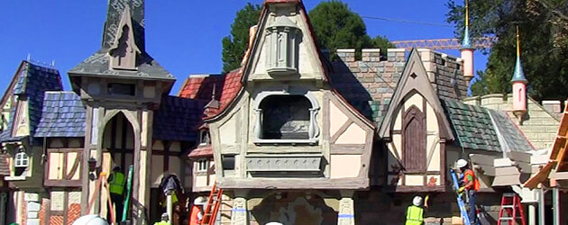 Behind the Walls Preview: Fantasy Faire to open March 12 as new Disneyland princess home, leaving swing dancing behind