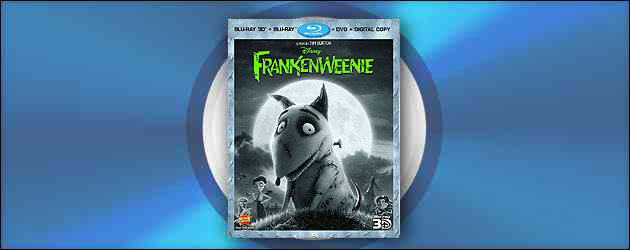 """Review: """"Frankenweenie"""" Blu-ray 3D – Sparky is ALIVE! at home with black-and-white never looking so good"""