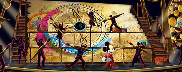 'Mickey and the Magical Map' stage show to debut at Disneyland in summer 2013 with colorful characters
