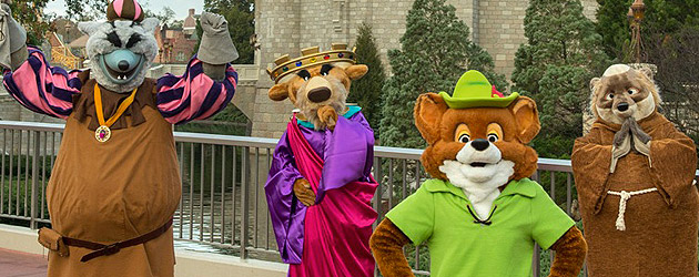 Long Lost Friends Week to bring rare characters back to Walt Disney World for Limited Time Magic, including Robin Hood