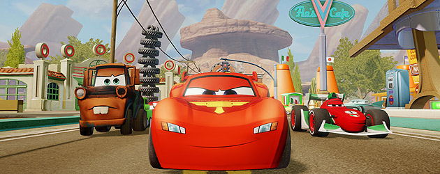 'Disney Infinity' Cars play set announced with trailer featuring Radiator Springs races, character figures