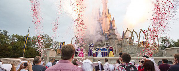 Walt Disney World celebrates Valentine's Day with character ceremony, part of Limited Time Magic 'True Love Week'