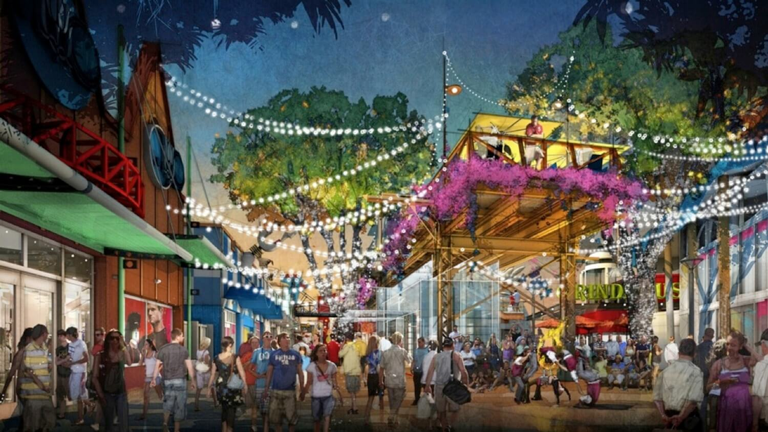 Disney Springs Announced For Walt Disney World Replacing Downtown Disney With New Waterfront