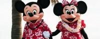 Mickey and Minnie at Aulani