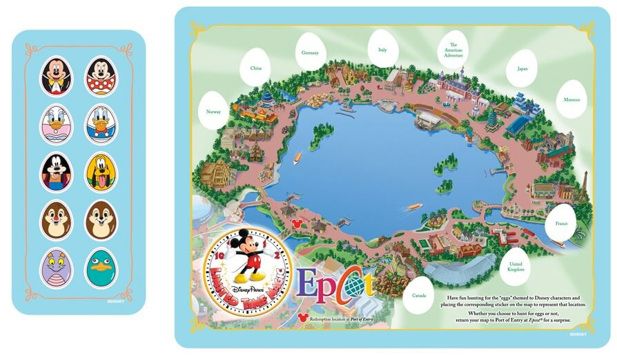 Epcot Map Walt Disney World Disneyland And Disneyworld Vacation