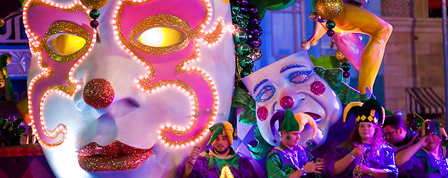 Behind the Beads: Making Mardi Gras 2013 at Universal Orlando, where art and design draw inspiration from festivals worldwide