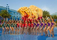 Art of Water Ballet Meets DisneyÕs Art of Animation Resort