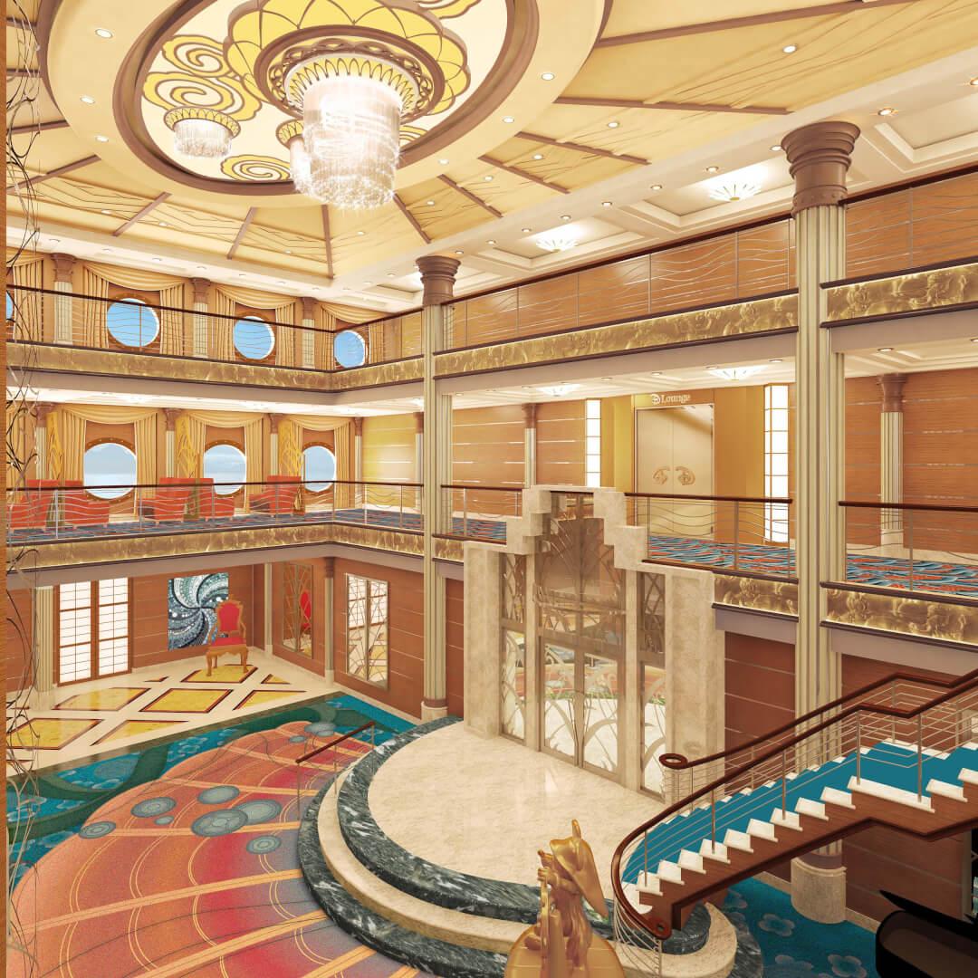 Dining Room Buffet Decor Disney Magic Cruise Ship Upgrades Announced With Aquadunk