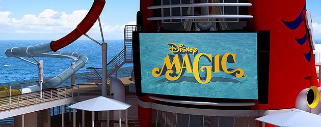 Disney Magic Cruise Ship Upgrades Announced With AquaDunk Drop - Pictures of the disney magic cruise ship