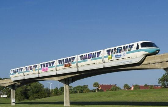 Monorail Walt Disney World