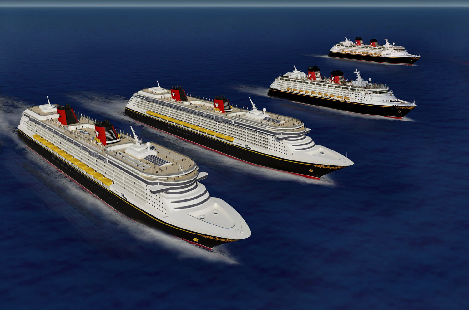 Report Disney Magic And Wonder To Receive Major Makeovers Two - Disney magic cruise ship
