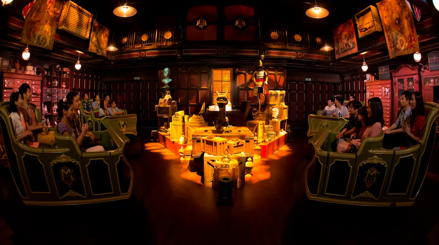 Story behind mystic manor imagineers get inspired by for Acquisition maison