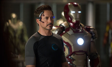 Iron Man 3 with Robert Downey Jr