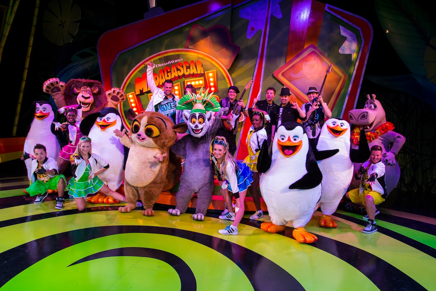 39 Madagascar Live Operation Vacation 39 Musical Stage Show