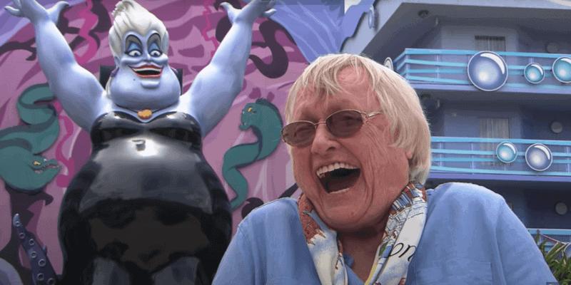 Pat Carroll as Ursula Disney Resort