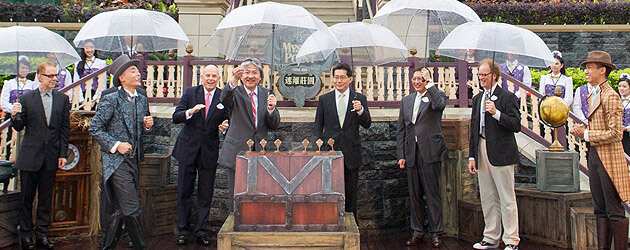 Mystic Point grand opening celebrated at Hong Kong Disneyland with debut of groundbreaking Mystic Manor dark ride