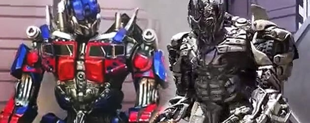 Interactive talking Optimus Prime and Megatron debut in Universal Studios Hollywood at Transformers: The Ride 3D