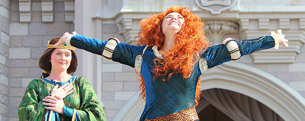 Merida becomes 11th Disney Princess in coronation ceremony with first-ever Queen Elinore appearance at Walt Disney World