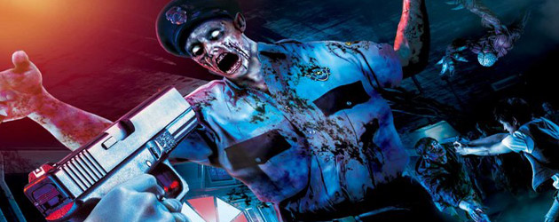 "Shoot ""Resident Evil"" zombies in real life video game with interactive ""Biohazard The Real"" attraction at Universal Studios Japan"