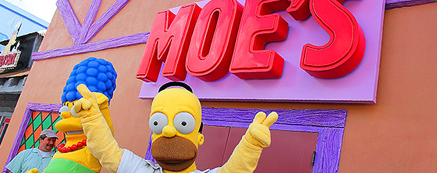 Krusty Burger, Moe's Tavern open at Universal Orlando, where Simpsons Fast Food Boulevard offers a taste of Springfield