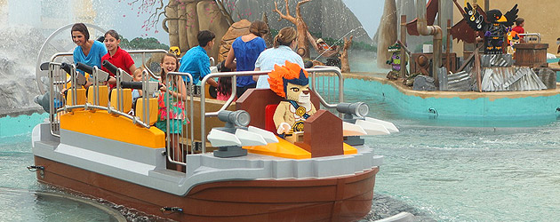 Inside the World of Chima as LEGOLAND Florida officially opens expansion with interactive Quest for Chi water ride