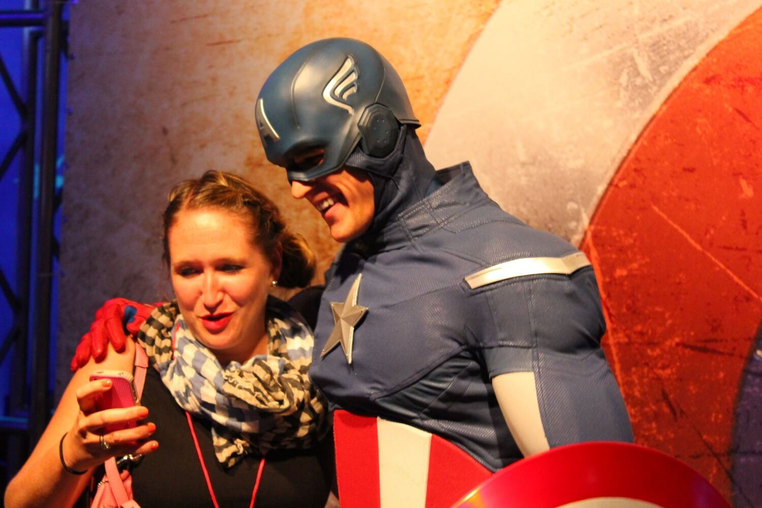 Captain America Character Debuts At 2013 D23 Expo, Ready