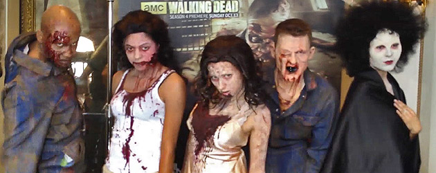 Behind the screams of Halloween Horror Nights 2013 as Universal Studios Hollywood previews their crazed characters