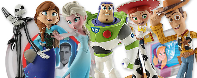 New Disney Infinity exclusives and pre-orders – Frozen, Jack Skellington, Tron, Toy Story in Space and beyond