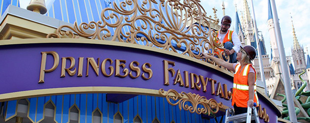 Princess Fairytale Hall to make royal debut on Sept 18 as Walt Disney World completes new home for Cinderella, Rapunzel