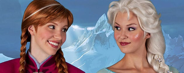 "Anna and Elsa to begin ""Frozen"" character meet-and-greets at Walt Disney World and Disneyland in November"