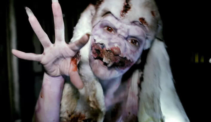 inside the basement as scarehouse brings r rated horror to