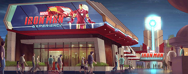 Iron Man Experience announced for Hong Kong Disneyland as Disney's first Marvel ride, to open in 2016 with high-flying thrills