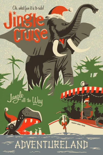 Jingle Cruise Sails Into Walt Disney World With Jolly New