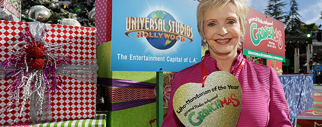 Grinchmas steals spotlight at Universal Studios Hollywood as Florence Henderson becomes Who-Manitarian of the Year