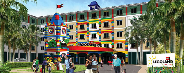 LEGOLAND Florida announces 4-story LEGOLAND Hotel to open in 2015, the fifth of its kind worldwide
