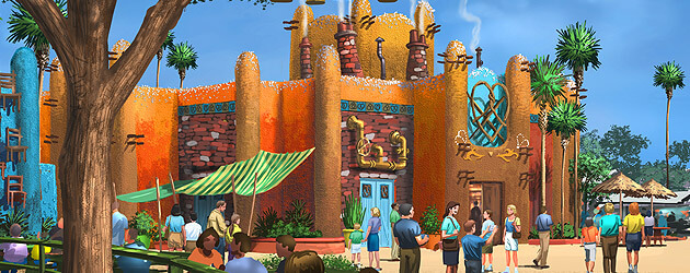 New 'Pantopia' land coming to Busch Gardens Tampa, replacing Timbuktu when Falcon's Fury drop tower opens in 2014