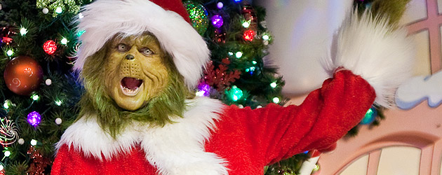 Video Interview: The Grinch chats at Universal Orlando about Christmas Carols, Holiday Celebrations, and even Grumpy Cat