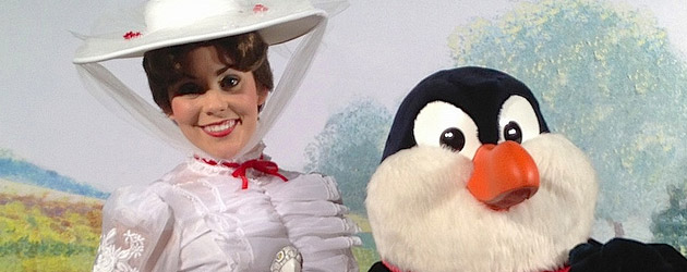 "Walt Disney World recreates ""Mary Poppins"" movie premiere with characters for ""Saving Mr. Banks"" meet-up event"