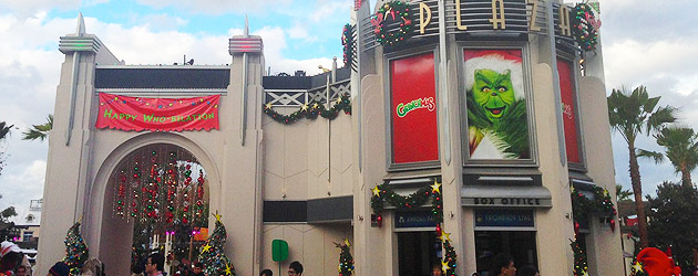 Universal Studios Hollywood kicks off holidays, completes new plaza, continues work on Despicable Me, Harry Potter