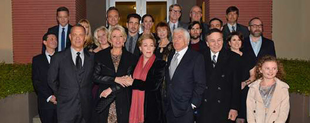 """Saving Mr. Banks"" premiere summons ""Mary Poppins"" spirit with song, special guests at Walt Disney Studios"