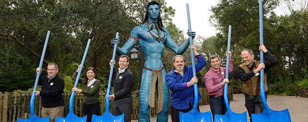 Avatar land construction begins at Walt Disney World, bringing the world of Pandora to Disney's Animal Kingdom