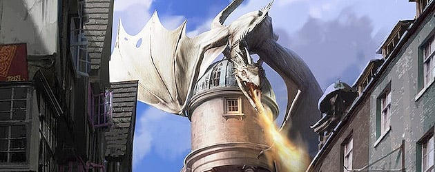 'Escape from Gringotts' ride revealed with new Diagon Alley details as Harry Potter expansion takes shape at Universal Orlando